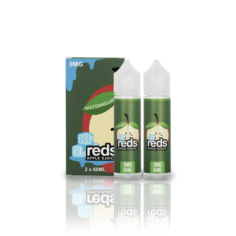 Reds E-Juice - Reds Apple Watermelon ICED 60ML